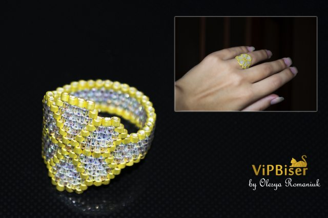 Beaded Ring for Girl