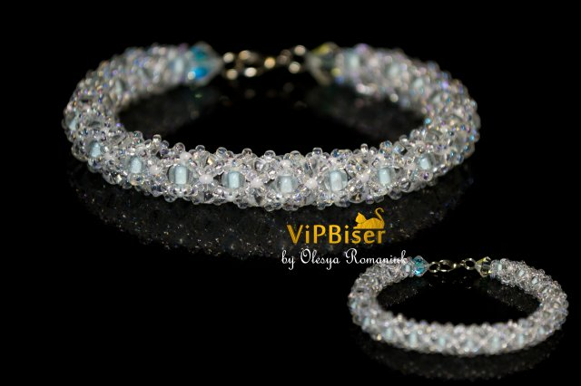 Winter Beaded Bracelet. Photo