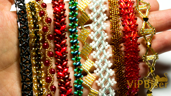 Beaded Chains. Photo