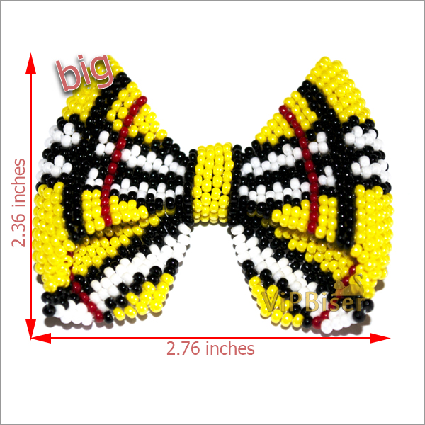 Beaded Bow Burberry. Big Bow. Pattern