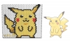 Pokemon - Pikachu. 3D Beading Pattern. Peyote Stitch