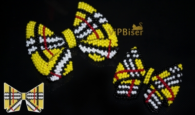 Beaded Bow Burberry. 3D Tutorial