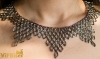Beaded Necklace with Preciosa Bugle Beads. 3D Tutorial